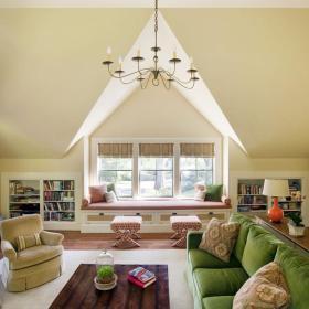 混搭客厅收纳设计方案