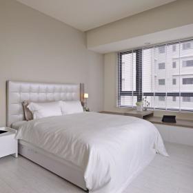 现代简约卧室飘窗&落地窗设计图