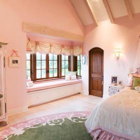 现代简约田园简欧卧室儿童房飘窗&落地窗设计方案