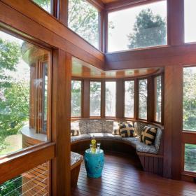 美式阳台飘窗&落地窗设计案例