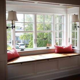 现代简约简欧飘窗&落地窗设计案例