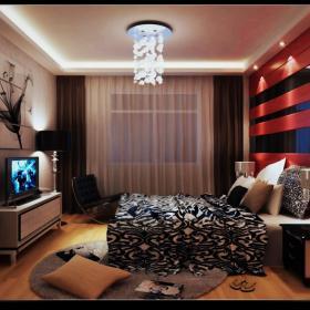 新古典混搭后现代卧室设计案例展示