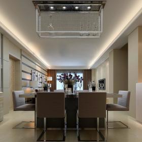 现代简约新古典餐厅装修案例