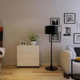 现代简约北欧客厅设计案例展示