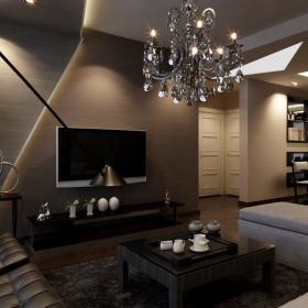 后现代客厅设计图