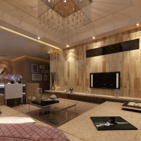 现代简约新古典客厅设计方案