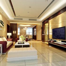 现代客厅--高清效果图-20141 (134)