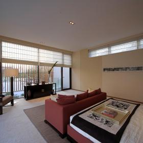 现代简约新中式客厅图片