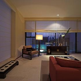 现代简约新中式客厅设计案例展示