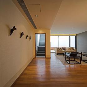 现代简约新中式走廊设计案例展示