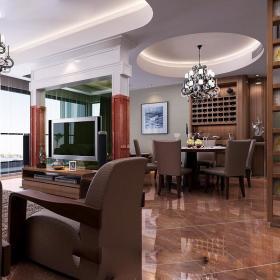 现代客厅--高清效果图-20141 (116)