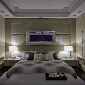 现代简约创意卧室装修效果展示