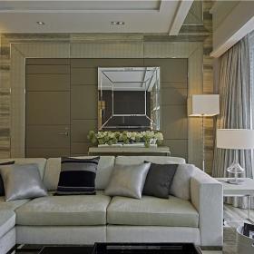 现代简约创意客厅设计案例