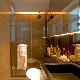 现代简约卫生间浴室淋浴房案例展示