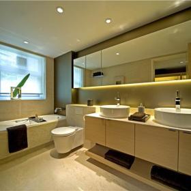 现代简约卫生间浴室设计图