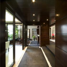 新中式走廊图片