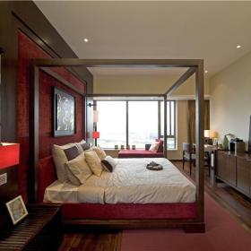 新中式卧室设计案例