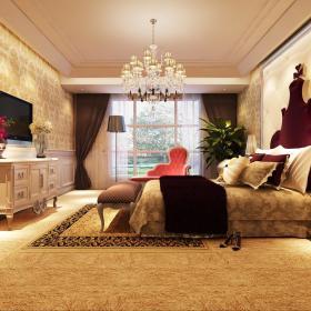 欧式卧室装修图