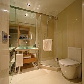现代简约卫生间浴室淋浴房图片