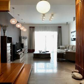 现代简约复古客厅设计案例