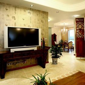 中式复古客厅设计案例展示