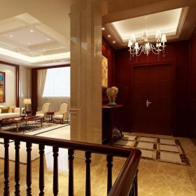 欧式客厅玄关玄关柜案例展示