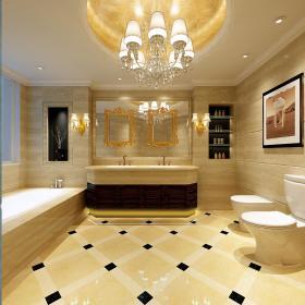 欧式卫生间浴室淋浴房图片