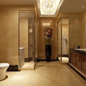 欧式卫生间浴室淋浴房案例展示