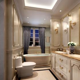欧式卫生间浴室淋浴房设计方案