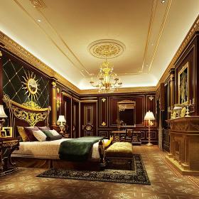 欧式美式卧室效果图