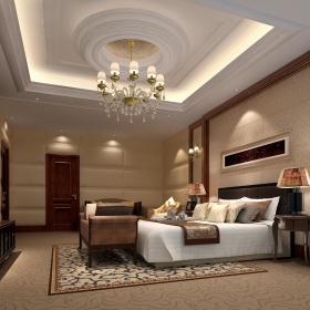 欧式复古卧室装修效果展示