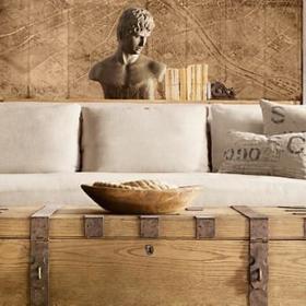 美式古典乡村风格沙发设计案例