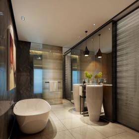 卫生间墙面效果图