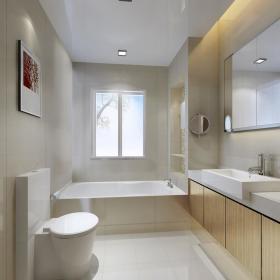 卫生间玻璃瓷砖设计案例