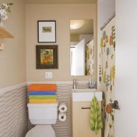 卫浴台盆装修案例