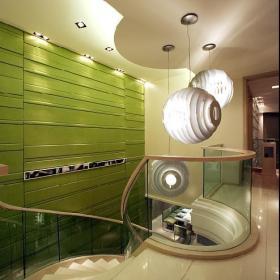 楼梯灯具效果图