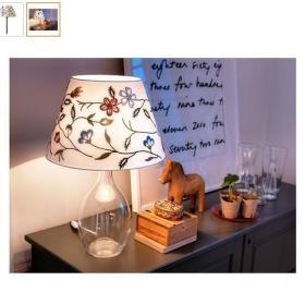 温馨台灯布艺灯射灯设计案例