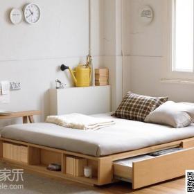 日式北欧卧室装修图