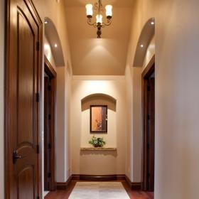 美式玄关玄关柜设计案例