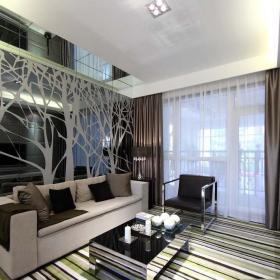 现代简约客厅背景墙电视背景墙效果图