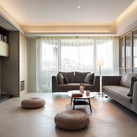 现代简约客厅装修效果展示