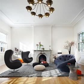 美式客厅装修案例