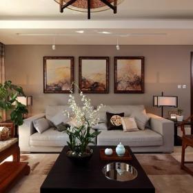 中式古典客厅装修效果展示
