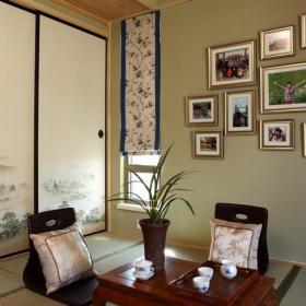 日式背景墙榻榻米装修效果展示
