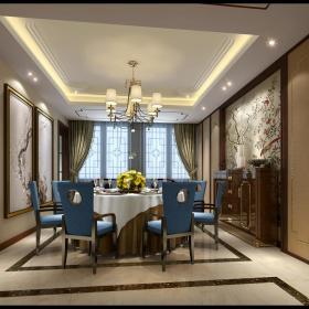 中式餐厅图片