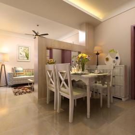 现代简约餐厅隔断设计方案