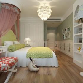 现代简约简欧儿童房装修案例